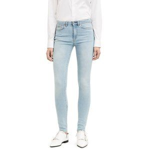 Acne Studios High Rise Skinny Pin Lt Vintage Jeans